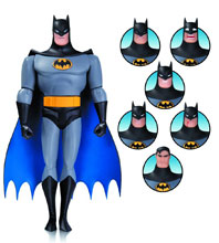 Image: Batman the Animated Series Expressions Pack 01: Batman  - DC Comics