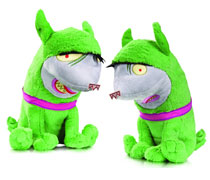 Image: DC Super Pets Plush 2-Pack: Crackers & Giggles  - DC Comics