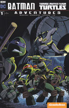 Image: Batman / Teenage Mutant Ninja Turtles Adventures #1 (incentive cover - Hilary Barta) (10-copy) - IDW Publishing