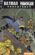 Image: Batman / Teenage Mutant Ninja Turtles Adventures #1 (Templeton incentive cover) (25-copy)  [2016] - IDW Publishing