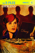 Image: X-Files: Origins #4 (subscription cover - Cat Staggs) - IDW Publishing