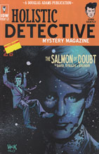 Image: Dirk Gently's Holistic Detective Agency: The Salmon of Doubt #2 (incentive cover - Hack) (10-copy)  [2016] - IDW Publishing