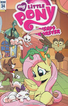 Image: My Little Pony: Friends Forever #34 (incentive cover - Jenn Blake) (10-copy)  [2016] - IDW Publishing