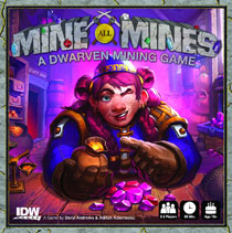 Image: Mine All Mines! Card Game  - IDW Publishing