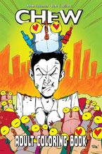 Image: Chew Coloring Book SC  - Image Comics