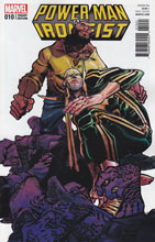 Image: Power Man and Iron Fist #10 (variant cover - Canete) - Marvel Comics