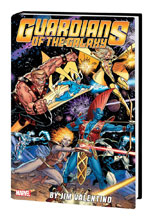 Image: Guardians of the Galaxy by Jim Valentino Omnibus HC  - Marvel Comics