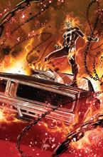 Image: Ghost Rider by Checchetto Poster  - Marvel Comics