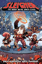 Image: Sleigher Vol. 01: The Heavy Metal Santa Claus SC  - Action Lab - Danger Zone