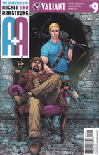Image: A&A: The Adventures of Archer & Armstrong #9 (Ryp incentive cover - 00941) (20-copy) - Valiant Entertainment LLC
