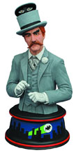 Image: Batman 1966 Resin Bust: Mad Hatter  - Diamond Select Toys LLC