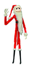 Image: Nightmare Before Christmas Unlimited Coffin Doll: Santa Jack  - Diamond Select Toys LLC