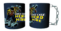 Image: Luke Cage Chain Molded Coffee Mug  - Surreal Entertainment