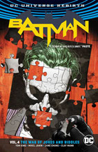 Image: Batman Vol. 04: The War of Jokes & Riddles  (Rebirth) SC - DC Comics