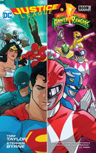 Image: Justice League / Power Rangers HC  - DC Comics
