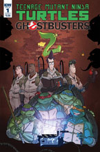Image: Teenage Mutant Ninja Turtles / Ghostbusters 2 #1 (cover A - Schoening) - IDW Publishing