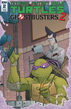 Image: Teenage Mutant Ninja Turtles / Ghostbusters 2 #2 (cover A - Schoening) - IDW Publishing