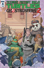 Image: Teenage Mutant Ninja Turtles / Ghostbusters 2 #4 (cover A - Schoening)  [2017] - IDW Publishing