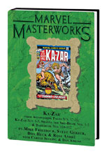 Image: Marvel Masterworks Vol. 257: Astonishing Tales Nos. 17-20, Ka-Zar Nos. 1-5, Shanna Nos. 1-5, etc. HC  - Marvel Comics