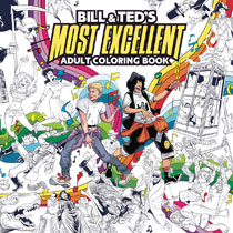 Image: Bill & Ted's Most Excellent Adult Coloring Book SC  - Boom! Studios
