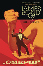 Image: James Bond: Kill Chain #5 (cover A - Smallwood) - Dynamite