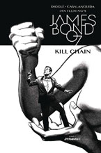 Image: James Bond: Kill Chain #5 (cover B incentive - Smallwood B&W) (10-copy) - Dynamite