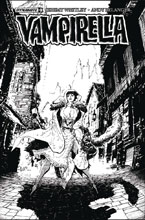 Image: Vampirella Vol. 04 #9 (cover F incentive - Tan B&W) (20-copy)  [2017] - Dynamite