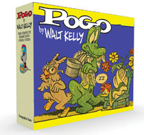 Image: Pogo Complete Syndicated Strips Box Set Vol. 3 & 4 HC  - Fantagraphics Books