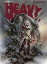 Image: Best of Heavy Metal Vol. 02 SC  - Heavy Metal Magazine