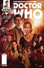 Image: Doctor Who: The 10th Doctor Year Three #11 (cover B - Photo) - Titan Comics