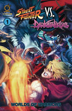 Image: Street Fighter vs. Darkstalkers Vol. 01: Worlds of Warriors SC  - Udon Entertainment Inc