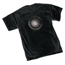 Image: Justice League T-Shirt: Cyborg Symbol  (L) - Graphitti Designs