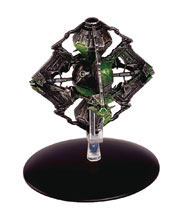 Image: Star Trek Official Starships Collection #109 (Borg Queen's Ship) - Eaglemoss Publications Ltd