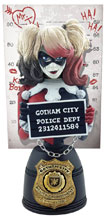 Image: DC Bust: Harley Quinn Mugshot  - Cryptozoic Entertainment