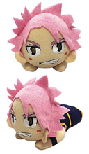 Image: Fairy Tail Plush: Natsu Laying Posture  (8-inch) - Great Eastern Entertainment