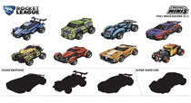 Image: Rocket League Pull Back Racers 24-Piece Blind Mystery Box Display  - Ucc Distributing