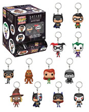 Image: Pocket Pop! DC Comics BTAS Figure Keychain 24-Piece Blind Mystery Box Display  - Funko