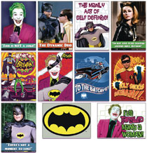 Image: Batman Classic 60s 48-Piece Magnet Assortment  - Ata Boy