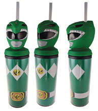 Image: Mighty Morphin Power Ranger Molded Carnival Cup: Green Ranger  - Surreal Entertainment