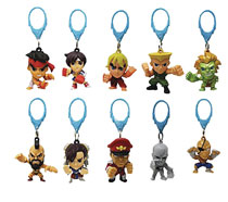 Image: Street Fighter Figure Hangers 24-Piece Blind Mystery Box Display  - Ucc Distributing