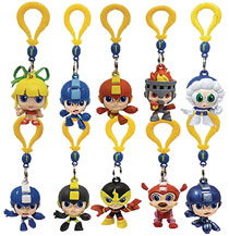 Image: Megaman Figure Hangers 24-Piece Blind Mystery Box Display  - Ucc Distributing