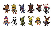 Image: Five Nights at Freddy's Figure Hangers 24-Piece Blind Mystery Box Display Series 2  - Ucc Distributing
