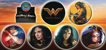 Image: Wonder Woman Movie 144-Piece Button Assortment  - Ata Boy