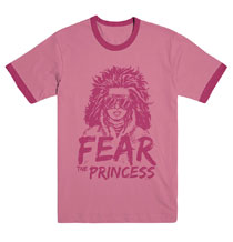 Image: Walking Dead T-Shirt: Fear the Princess  (S) - Image Comics