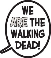 Image: Walking Dead Pin: Balloon - We are the Walking Dead  - Image Comics
