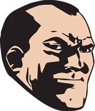 Image: Walking Dead Pin: Negan Face  - Image Comics