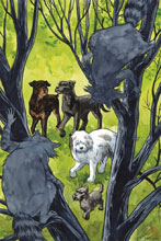 Image: Beasts of Burden: Wise Dogs & Eldritch Men #4 (cover B - Thompson) - Dark Horse Comics