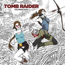 Image Tomb Raider Coloring Book