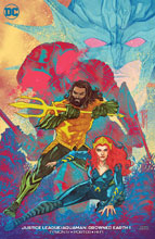 Image: Justice League / Aquaman: Drowned Earth #1 (variant cover - Francis Manapul) - DC Comics