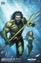 Image: Aquaman / Justice League: Drowned Earth Special #1 (variant cover - Dale Keown) - DC Comics